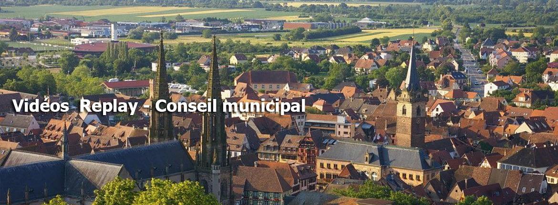 videos replay conseil municipal